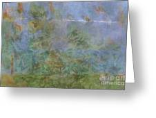 Prosperity - Abstract Art  Greeting Card