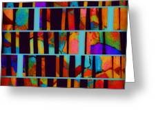 abstract - art- Color Pop  Greeting Card