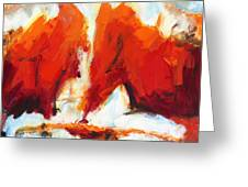 Abstract Art Forty-three Greeting Card
