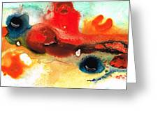 Abstract Art - No Limits - By Sharon Cummings Greeting Card