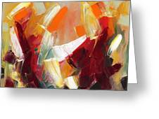 Abstract Art Sixty Greeting Card