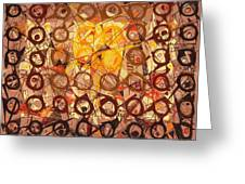 Abstract Art Sixty-six Greeting Card