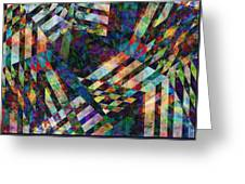 abstract - art - Tilt Two Greeting Card