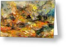 Abstract Autumn 2 Greeting Card