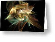 Abstract Bloom  Greeting Card