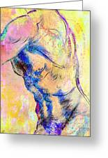 Abstract Bod 6 Greeting Card