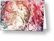 Abstract Branches Greeting Card