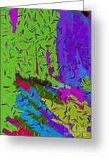 Abstract. Bring In The Noise Greeting Card