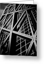 Abstract Buildings 2 Greeting Card