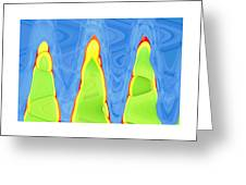 Abstract By Photoshop 12 Greeting Card