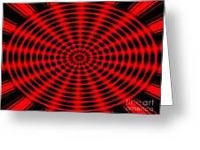 Abstract Circle Greeting Card