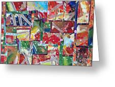 Abstract Collages 1 Greeting Card