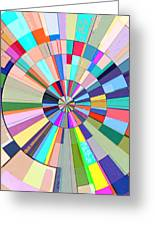 Abstract Color Wheel Greeting Card