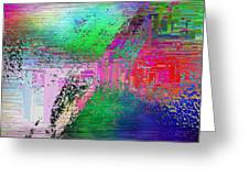 Abstract Cubed 1 Greeting Card