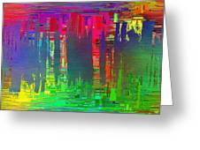 Abstract Cubed 113 Greeting Card