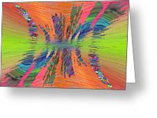 Abstract Cubed 168 Greeting Card