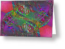 Abstract Cubed 194 Greeting Card
