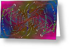 Abstract Cubed 217 Greeting Card