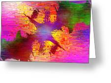 Abstract Cubed 26 Greeting Card