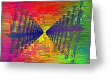 Abstract Cubed 3 Greeting Card