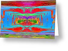 Abstract Cubed 30 Greeting Card