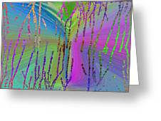 Abstract Cubed 63 Greeting Card
