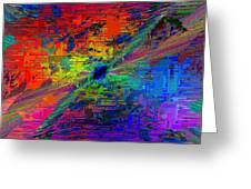 Abstract Cubed 77 Greeting Card