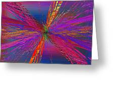 Abstract Cubed 95 Greeting Card