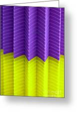 Abstract Cups Greeting Card