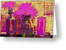 Abstract Decor Greeting Card