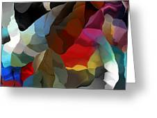 Abstract Distraction Greeting Card