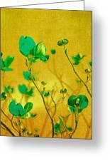Abstract Dogwood Greeting Card