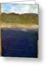 Abstract Dunes Ll Greeting Card