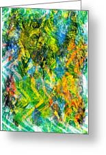 Abstract - Emotion - Admiration Greeting Card