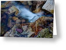 Abstract Falls Greeting Card