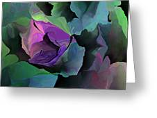Abstract Floral Expression 041213 Greeting Card