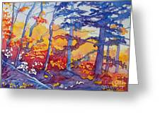Abstract Forest No. 1 Greeting Card