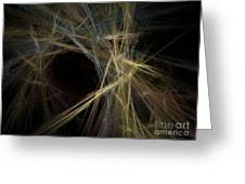 Abstract Fractal Background 01 Greeting Card
