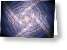 Abstract Fractal Background 17 Greeting Card