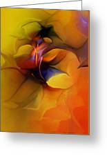 Abstract From Within Greeting Card