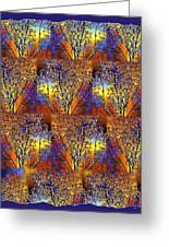 Abstract Fusion 142  Greeting Card