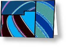 Abstract Fusion 143 Greeting Card
