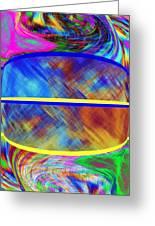 Abstract Fusion 173 Greeting Card