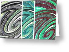 Abstract Fusion 180 Greeting Card