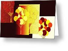 Abstract Fusion 192 Greeting Card
