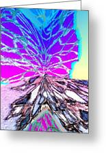 Abstract Fusion 196 Greeting Card by Will Borden