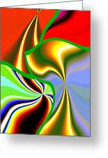 Abstract Fusion 200 Greeting Card
