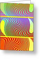 Abstract Fusion 205 Greeting Card