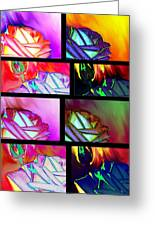 Abstract Fusion 214 Greeting Card