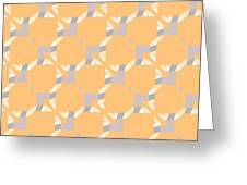 Abstract Geometric Pattern. Vector Greeting Card